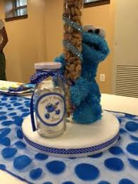 cookie monster table decorations diy 1st birthday cookie monster centerpieces nixyn s first