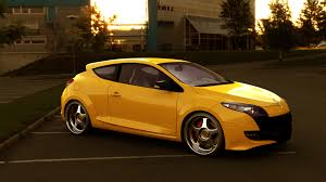 renault orange renault megane rs 250 by blacklizard1971 on deviantart