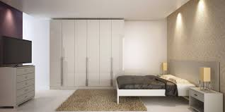 White Gloss Furniture Eldridge Modern White Gloss Mdf 4 Drawers U0026 6 Doors Wardrobe
