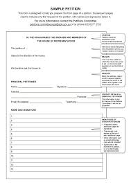 30 free petition templates how to write petition guide