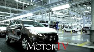 peugeot car dealership car factory peugeot 2008 crossover production l mulhouse plant