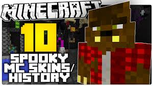Halloween Monster Trivia by The 10 Scariest Minecraft Skins U0026 Facts About Them You Probably