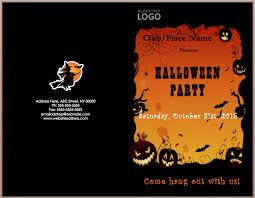 4 halloween invitation template outline templates