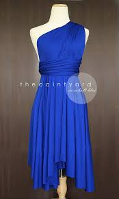 cobalt blue bridesmaid dresses cobalt blue bridesmaid dress convertible dress infinity dress