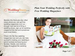 wedding magazines free by mail plan your wedding perfectly with free wedding magazines