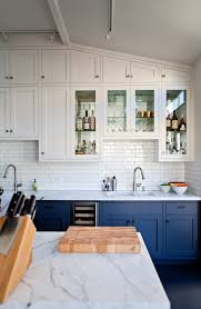 navy kitchen cabinets ideas two tone kitchen cabinet ideas for your new kitchen