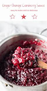 side dishes for thanksgiving turkey dinner ginger orange cranberry sauce the endless meal