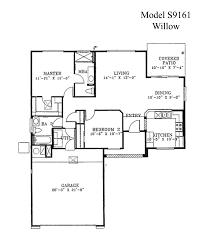 sun city grand willow floor plan del webb model home loversiq