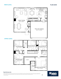 ryan homes ohio floor plans ryan homes