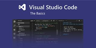 basic editing in visual studio code