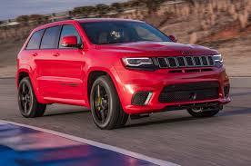 jeep track 2018 jeep grand cherokee trackhawk first drive fastest suv