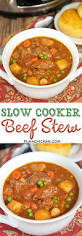 slow cooker beef stew plain chicken