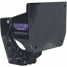 panther model 55 trim and tilt motor bracket for outboards 15 to
