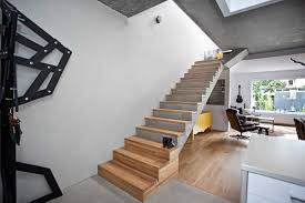 home interior design steps wood turns concrete architectural spaces into cozy modern home