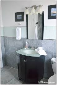 bathrooms ideas with tile creative small bathroom remodel with slate and glass tile hometalk