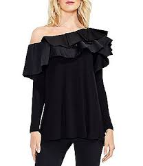s casual dressy tops blouses dillards