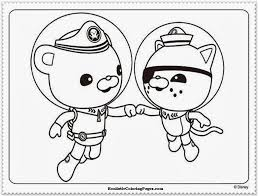 octonauts tunip coloring pages cartoon images of octonaut