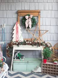 rustic star decorations for home 20 festive front porch decorating ideas for the holidays hgtv u0027s