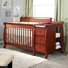 Convertible Cribs With Attached Changing Table Baby Cribs With Changing Table Holidaysale Club