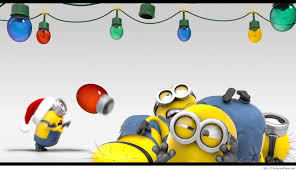 funny christmas minions wallpaper u2013 thefunnyplace