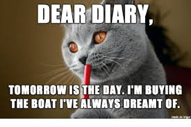 Cat Buy A Boat Meme - search anklet memes on me me