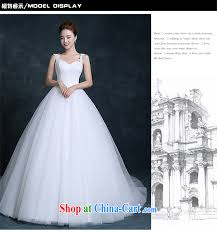 Stylish Wedding Dresses Air Fox New Stylish Wedding Dresses Korean Lace Shoulders Small