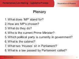 The Cabinet In Government Parliamentary Law Making Ppt Download
