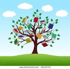 tree knowledge vector stock vector 301427474