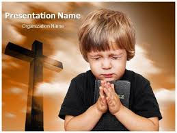 praying powerpoint template is one of the best powerpoint