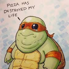 Ninja Turtles Meme - pizza has destroyed my life teenage mutant ninja turtles know
