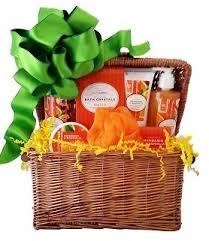 spa basket gift baskets mandarin magnolia spa basket all gift
