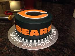 best 25 chicago bears cake ideas on chicago bears