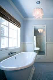 blue cottage bathroom photos hgtv contemporary with penny tile