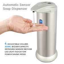 Kitchen Sink Capacity by Automatic Touchless Soap Dispenser For Bathroom Kitchen Sink 300ml