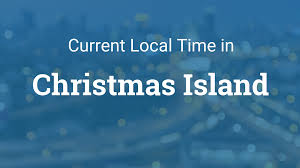 current local time in christmas island
