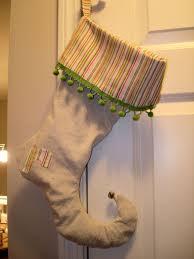 tutorial drop cloth elf stockings