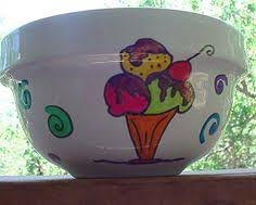 Personalized Ice Cream Bowl Super Cute Diy Ice Cream Bowls They Make A Great Gift And You
