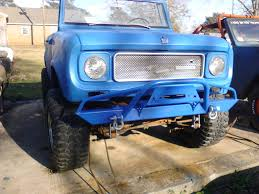 affordable prerunner winch front bumper international scout 80