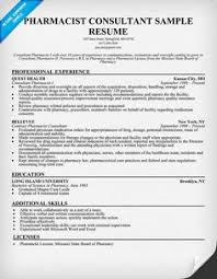 Sample Resume Of Pharmacist by Pharmacist Resume Sample Free Examples Of Resumes Effective And