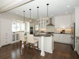 Jasper Kitchen Cabinets Traditional Kitchen With Breakfast Bar U0026 High Ceiling In