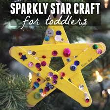sparkly star craft for toddlers crafts we and a love