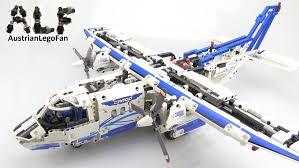 lego technic lego technic 42025 cargo plane lego speed build review