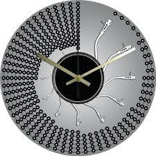 horloge pour cuisine moderne pendule de cuisine design horloge cuisine moderne pendule pour