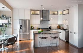 overview of kitchen with closed cabinetry phoenixville pa https