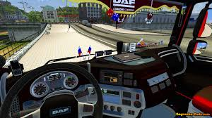 interior daf euro 6 with accesories for ets 2 download game mods
