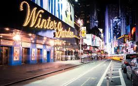usa new york united states new york winter garden theatre street
