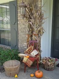 decorating with cornstalks
