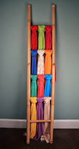 Creative Way To Hang Scarves by Best 25 Bamboo Ladders Ideas On Pinterest Bamboo Bamboo Ideas