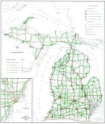 Map Of Detroit Michigan Michigan Highways Maps