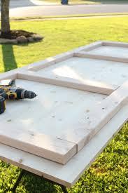 How To Build Farm Table by How To Build A Modern Diy Farmhouse Table Life Storage Blog